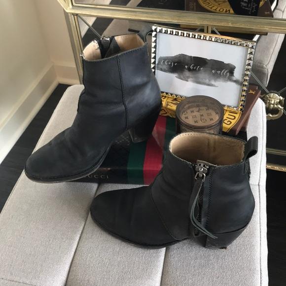 6c76c02a11c Acne Studios Pistol Leather Ankle Boots
